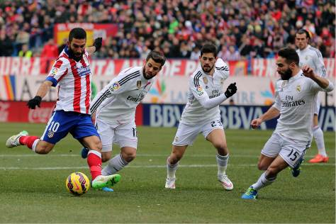 An injury hit Real suffer their biggest defeat for over 4 years as they go down 4-0 to La Liga holders Atletico