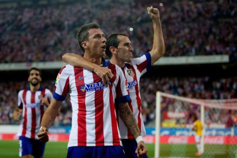 A first half brace from Mandzukic helped us on our way to a cracking 4/1 winner